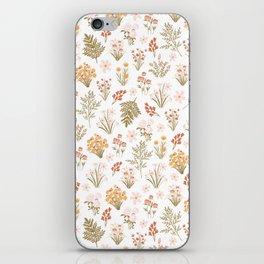 Florals iPhone Skin