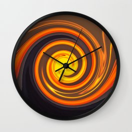 Sunset CIRCLE Wall Clock