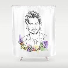 Louis Tomlinson Shower Curtain