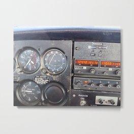 Instrument Panel for those Pilots Metal Print