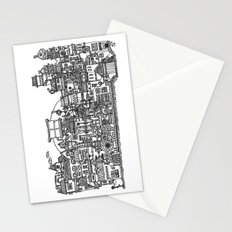 Busy City XI Stationery Cards
