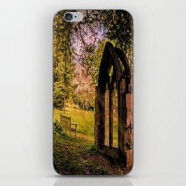 Manor house landscape. iPhone Skin