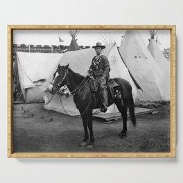 Calamity Jane on Horseback - 1901 Serving Tray