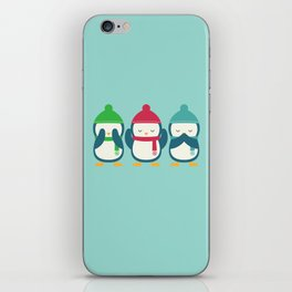 No Evil In Holiday iPhone Skin