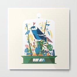 Diorama 1/2 - Jungle Fever Metal Print