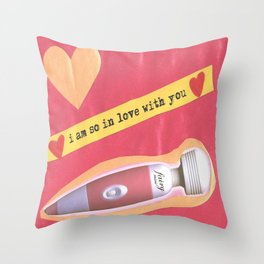 I am so in love with you Throw Pillow