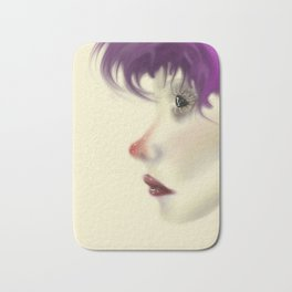 Colored Contemplation Bath Mat