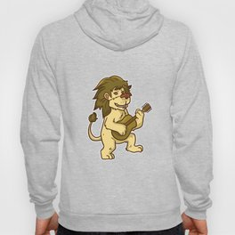 Guitar Lion Hoody