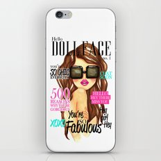 Doll Face iPhone & iPod Skin