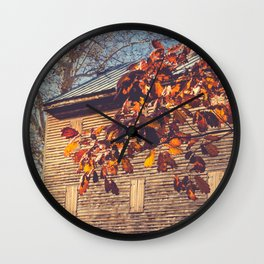 Rock Mill 3 Wall Clock