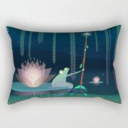 THE FROG Rectangular Pillow