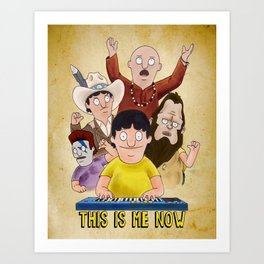 This is Me Now - Bob's Burgers - Gene Quote Art Print