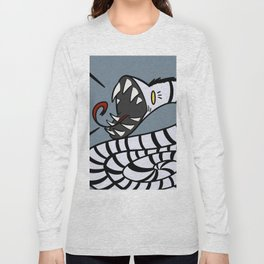 Striped Snake Long Sleeve T-shirt