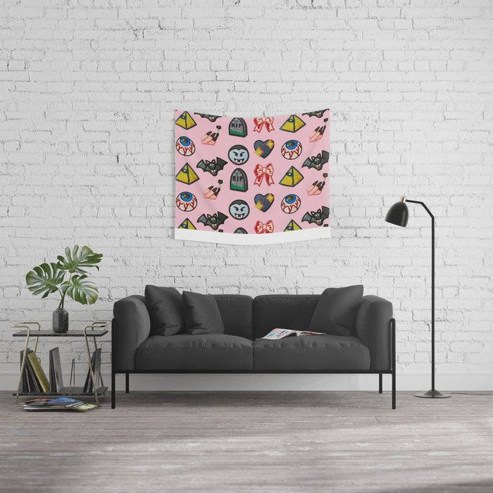 Feeling Goth  Wall Tapestry