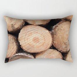 Sawn logs Rectangular Pillow