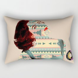 Elizabeth Taylor Has A Pattern Rectangular Pillow