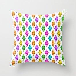 Diamond Plumbob Throw Pillow