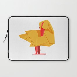 Origami Duck Laptop Sleeve