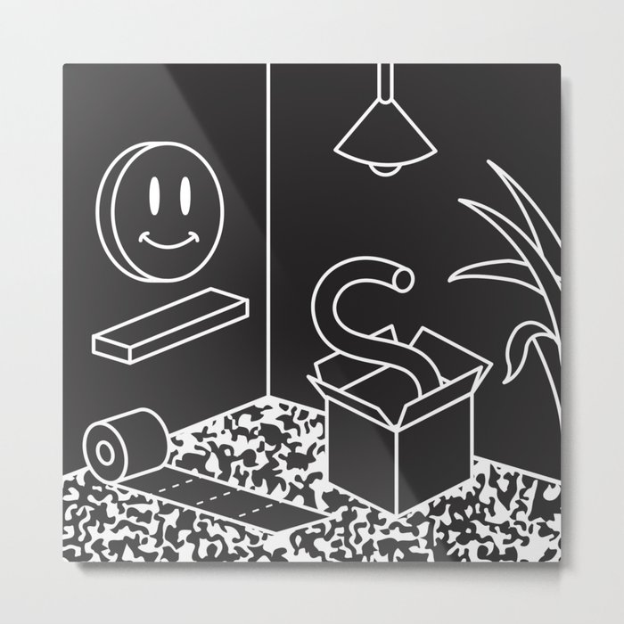 Objects In Room Metal Print