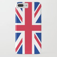 UK FLAG - The Union Jack Authentic color and 3:5 scale  Slim Case iPhone 7 Plus