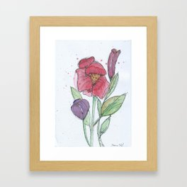 Blooms Framed Art Print