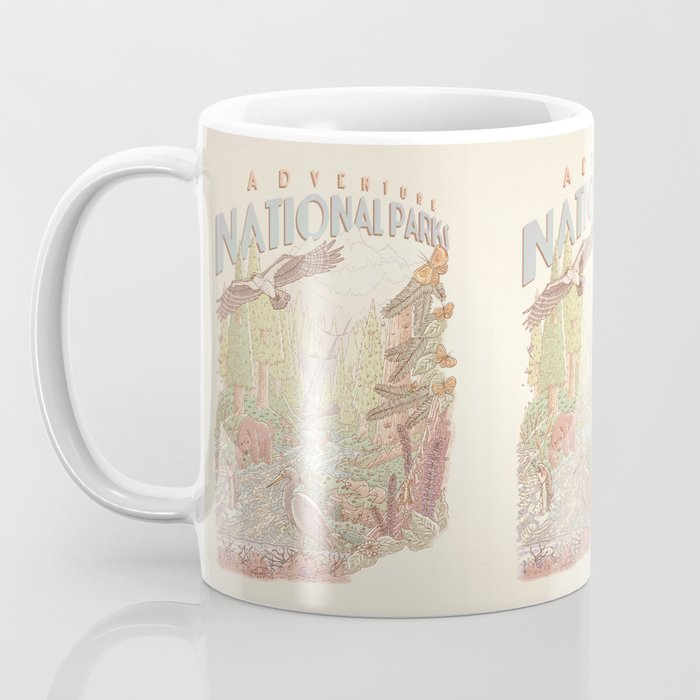 Adventure National Parks Coffee Mug