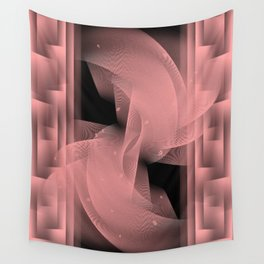 Illusion of stability Wall Tapestry