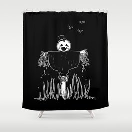 ▴ scarecrow ▴ Shower Curtain