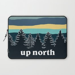 up north, teal & yellow Laptop Sleeve