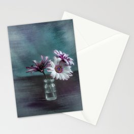 Dasies in vial Art Stationery Cards