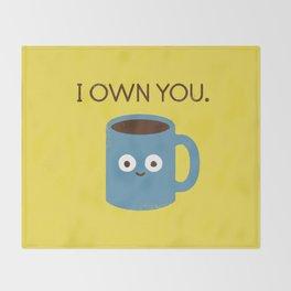 Coffee Talk Throw Blanket