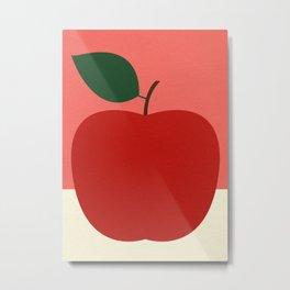 Rosi Feist – Red Apple Metal Print