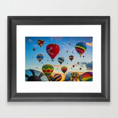 Mass Ascension Framed Art Print