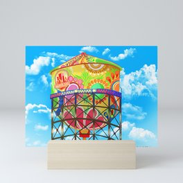 Santa Ana Water Tower Mini Art Print