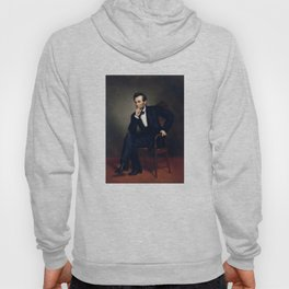 President Abraham Lincoln Painting Hoody