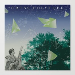 Cross Polytope (16 Cell Revisited) Canvas Print