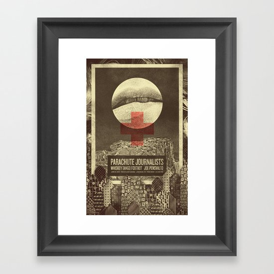 Parachute Journalists - Temptation Framed Art Print