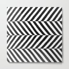 Stripe Graffika  Metal Print