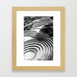 Moray Inca Archaeological Site Framed Art Print
