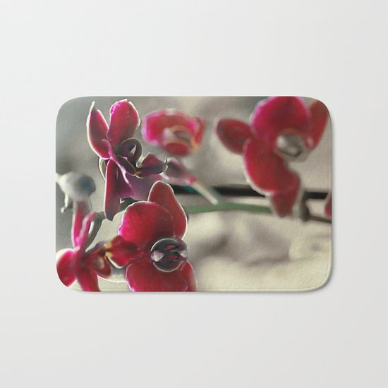 The mystery of orchid(11) Bath Mat