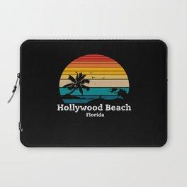 Hollywood Beach Hollywood - Florida Laptop Sleeve