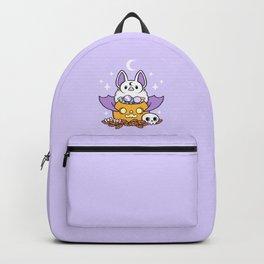 Pumpkin Bat Backpack