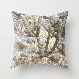 Cacti II Throw Pillow