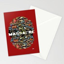 MASSACRE Stationery Cards
