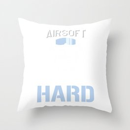 Airsoft Hard Humorous Guns Air Guns Shooting Players Extreme Action Sports Gift Throw Pillow