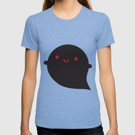 Evil Twin Black Ghost - Kawaii Halloween T-shirt