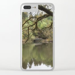 Spring Reflections 2 Clear iPhone Case