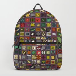 el geo violet Backpack