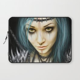Unstoppable: A Vampiric Warrior Laptop Sleeve