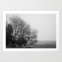 Winter's Desolace Art Print